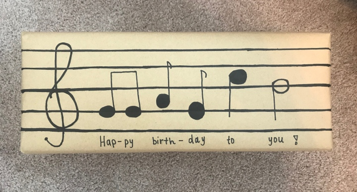Musical Birthday Box
